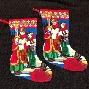 Fine Needlepoint 🎄Christmas Stockings 🎄